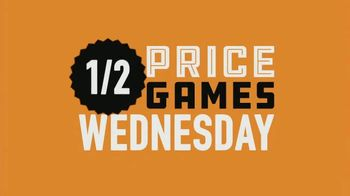 Dave and Buster's TV Spot, 'Half Price Games Wednesday: Hump Day Is Play Day' - Thumbnail 9