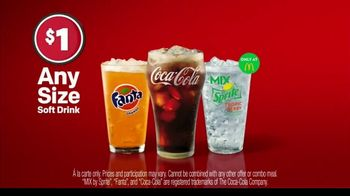 McDonald's Any Size Soft Drinks TV Spot, 'Hit Repeat on Refreshment' - Thumbnail 2