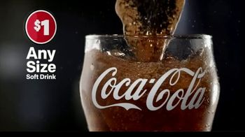 McDonald's Any Size Soft Drinks TV Spot, 'Hit Repeat on Refreshment' - Thumbnail 1