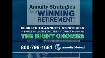 Annuity Mutual TV Spot, 'Maximize Retirement Income' - Thumbnail 3