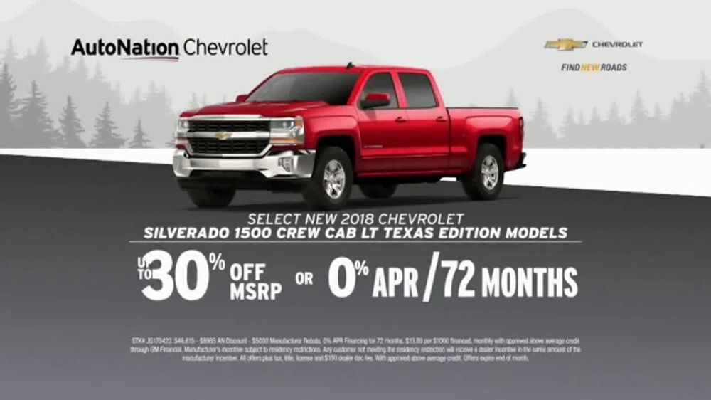 Auto Nation Chevrolet >> Autonation Chevrolet Truck Month Tv Commercial 2018 Silverado And 2019 Equinox Video