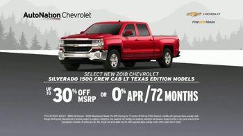 AutoNation Chevrolet Truck Month TV Spot, '2018 Silverado and 2019 Equinox' - Thumbnail 3
