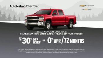AutoNation Chevrolet Truck Month TV Spot, '2018 Silverado and 2019 Equinox' - Thumbnail 4
