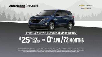 AutoNation Chevrolet Truck Month TV Spot, '2018 Silverado and 2019 Equinox' - Thumbnail 6