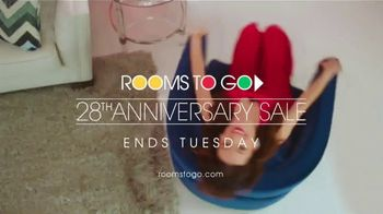 Rooms to Go 28th Anniversary Sale TV Spot, 'Final Weekend: Bonus Buys' Song by Portugal. The Man - Thumbnail 10