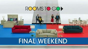 Rooms to Go 28th Anniversary Sale TV Spot, 'Final Weekend: Bonus Buys' Song by Portugal. The Man - Thumbnail 2