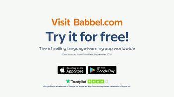 Babbel TV Spot, 'Baby Babbling' - Thumbnail 10