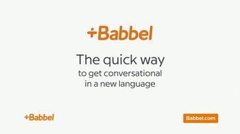 Babbel TV Spot, 'Baby Babbling' - Thumbnail 4