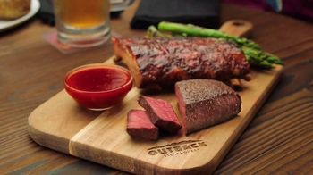 Outback Steakhouse Steak & Ribs TV Spot, 'Two Parts: Everyday Lunch Combo' - Thumbnail 1