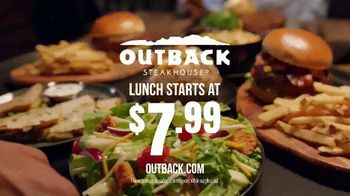 Outback Steakhouse Steak & Ribs TV Spot, 'Two Parts: Everyday Lunch Combo' - Thumbnail 9