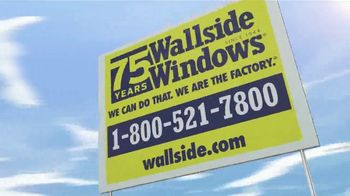 Wallside Windows TV Spot, 'Limited Time: 75 Months No Interest' - Thumbnail 8