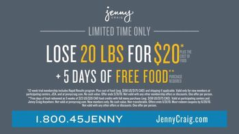 Jenny Craig Rapid Results TV Spot, 'Brittany, Jessica and Shiella: 20 for $20' - Thumbnail 7