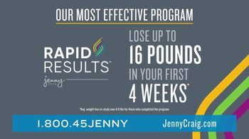 Jenny Craig Rapid Results TV Spot, 'Brittany, Jessica and Shiella: 20 for $20' - Thumbnail 2
