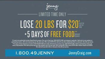 Jenny Craig Rapid Results TV Spot, 'Justin: 20 for $20' - Thumbnail 9