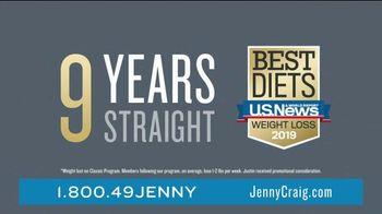 Jenny Craig Rapid Results TV Spot, 'Justin: 20 for $20' - Thumbnail 2