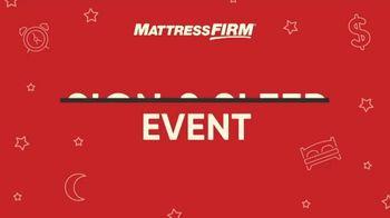 Mattress Firm Sign & Sleep Event TV Spot, 'Final Days: 0 Percent Interest' - Thumbnail 1