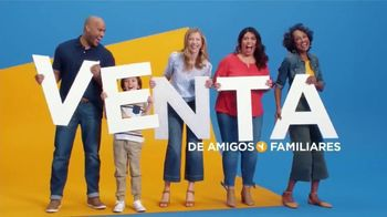 JCPenney Venta de Amigos y Familiares TV Spot, 'St. John's Bay y sabanas' [Spanish]