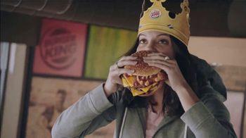Burger King Stackers TV Spot, 'The Stacker King Challenge' - Thumbnail 1