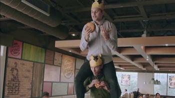 Burger King Stackers TV Spot, 'The Stacker King Challenge' - Thumbnail 2