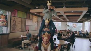 Burger King Stackers TV Spot, 'The Stacker King Challenge' - 1534 commercial airings