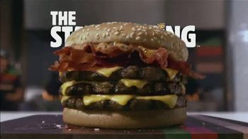 Burger King Stackers TV Spot, 'The Stacker King Challenge' - Thumbnail 7