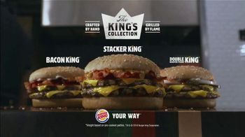 Burger King The Stacker King TV Spot, 'The King's Collection' - Thumbnail 9