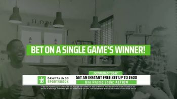 DraftKings Sportsbook TV Spot, 'Online Betting Finally Legal' - Thumbnail 5