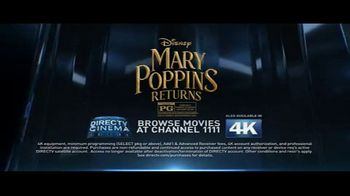 DIRECTV Cinema TV Spot, 'Mary Poppins Returns' - Thumbnail 9