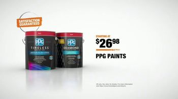 The Home Depot TV Spot, 'The Perfect Color: PPG' - Thumbnail 9