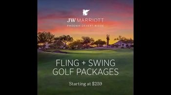 The Club JW Marriott Desert Ridge Fling + Swing Golf Packages TV Spot, 'Trip' - Thumbnail 1