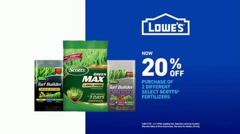 Lowe's TV Spot, 'Spring: Fertilizers' - Thumbnail 9