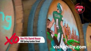 Visit Philadelphia TV Spot, 'Philly in 60: Roy Pitz Barrel House, Spin, Stand Exhibit, Harp & Crown' - Thumbnail 3