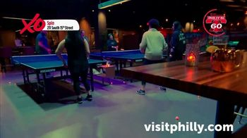 Visit Philadelphia TV Spot, 'Philly in 60: Roy Pitz Barrel House, Spin, Stand Exhibit, Harp & Crown' - Thumbnail 5
