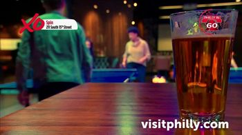 Visit Philadelphia TV Spot, 'Philly in 60: Roy Pitz Barrel House, Spin, Stand Exhibit, Harp & Crown' - Thumbnail 6