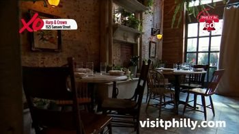 Visit Philadelphia TV Spot, 'Philly in 60: Roy Pitz Barrel House, Spin, Stand Exhibit, Harp & Crown' - Thumbnail 9