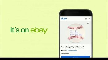 eBay TV Spot, 'MLB Opening Week: It's on Ebay' - Thumbnail 8