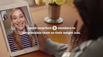WW TV Spot, 'Oprah Facetime Launch' - Thumbnail 2