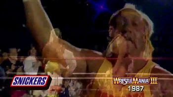 Snickers TV Spot, 'Hungry for Mania Moment: Wrestlemania III' - 1 commercial airings