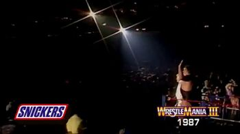 Snickers TV Spot, 'Hungry for Mania Moment: Wrestlemania III' - Thumbnail 1