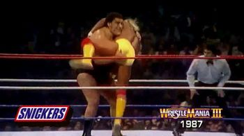 Snickers TV Spot, 'Hungry for Mania Moment: Wrestlemania III' - Thumbnail 3