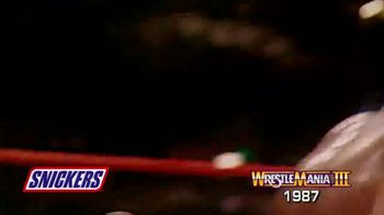 Snickers TV Spot, 'Hungry for Mania Moment: Wrestlemania III' - Thumbnail 5