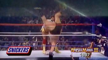 Snickers TV Spot, 'Hungry for Mania Moment: Wrestlemania III' - Thumbnail 6