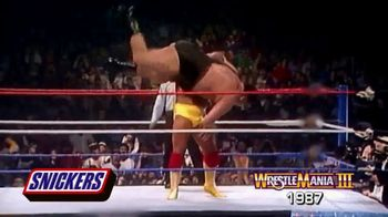 Snickers TV Spot, 'Hungry for Mania Moment: Wrestlemania III' - Thumbnail 7