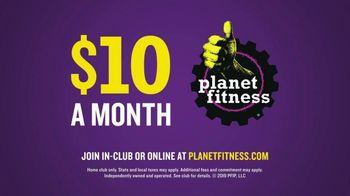Planet Fitness TV Spot, 'Sideways Pull Ups' - Thumbnail 10