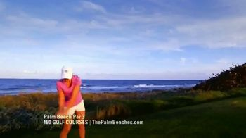 Discover the Palm Beaches TV Spot, '160 Golf Courses' - Thumbnail 2