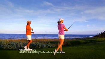 Discover the Palm Beaches TV Spot, '160 Golf Courses' - Thumbnail 4
