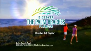 Discover the Palm Beaches TV Spot, '160 Golf Courses' - Thumbnail 7