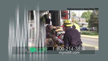 MyNotifi TV Spot, 'Fall Detection Technology'