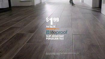 The Home Depot TV Spot, 'Tile Trends: LifeProof' - Thumbnail 9