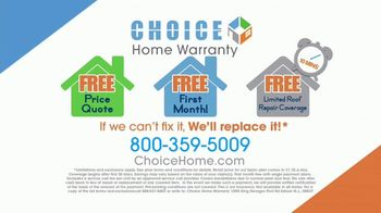 Choice Home Warranty TV Spot, 'Army of Expert Technicians' Featuring George Foreman - Thumbnail 9